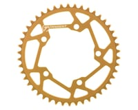 Image 1 for Tangent Halo 5-Bolt Chainring (Gold) (46T)