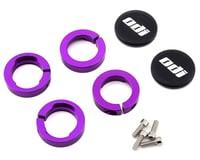 Image 2 for Tangent Pro Lock-On Grips (Black/Purple) (130mm)