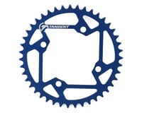 Image 1 for Tangent 5-Bolt Chain Ring (Blue) (2016) (43T)