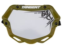 Tangent 3D Ventril Number Plate (Trans Green)