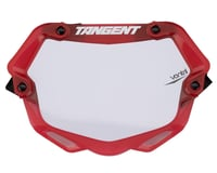 Tangent 3D Ventril Number Plate (Trans Red)