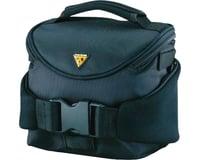 Topeak Compact Handlebar Bag/Fanny Pack w/ Fixer 8 (Black) | relatedproducts