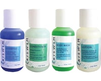 Triswim Chlorine Removal Hair and Skin Care Shot Set (Four 2oz Bottles)