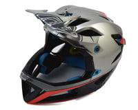 Troy Lee Designs Stage MIPS Race Helmet (Silver/Navy) (M/L)