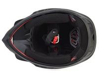 Image 3 for Troy Lee Designs D3 Fiberlite Full Face Helmet (Mono Black) (M)
