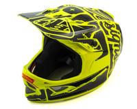 Image 1 for Troy Lee Designs D3 Fiberlite Full Face Helmet (Flo Yellow)