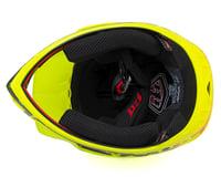 Image 3 for Troy Lee Designs D3 Fiberlite Full Face Helmet (Flo Yellow)