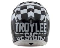 Image 2 for Troy Lee Designs D3 Fiberlite Helmet (Raceshop White) (2XL)