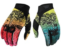 Troy Lee Designs Air Gloves (Boneyard Green/Pink)
