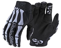 Troy Lee Designs Youth Air Gloves (Skully Black/White)