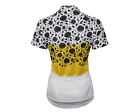 Image 2 for Twin Six Women's The Martyr Short Sleeve Jersey (Yellow/White) (Xsmall)