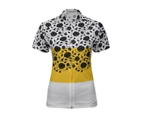 Image 3 for Twin Six Women's The Martyr Short Sleeve Jersey (Yellow/White) (Xsmall)