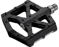 "VP Components All Purpose Pedals - Platform, Aluminum, 9/16"", Black 