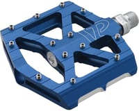 "VP Components All Purpose Pedals - Platform, Aluminum, 9/16"", Blue 