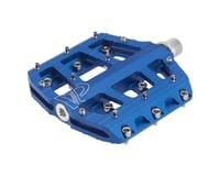 "VP Components Vice Trail Pedals - Platform, Aluminum, 9/16"", Blue"