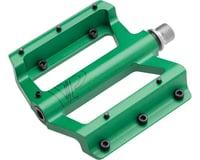 """VP Components DH Pedals - Platform, Aluminum, 9/16"""", Green"""