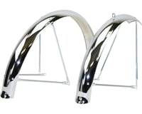 Wald Balloon 962 Fender Set (Chrome) (Fits 26 x 2.0 - 2.125 Wheels)