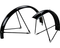 Wald Balloon 962 Fender Set (Gloss Black) (Fits 26 x 2.0 - 2.125 Wheels)
