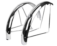 "Wald 972 Flared Balloon Fender Set (Chrome) (26 x 2-1/8"")"