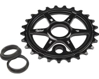 We The People Patrol Sprocket 30t Black 23.8mm Spindle Hole With Adaptors for 19