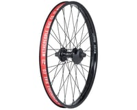 "We The People Supreme Rear Wheel - 22"", 14 x 110mm, Rim Brake, Cassette, Black,"