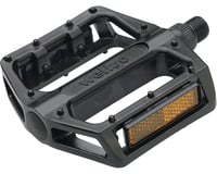 Wellgo B087 Platform Pedals (Black) (Aluminum)