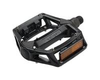 """Wellgo B087 Pedals - Platform, Aluminum, 1/2"""", Black"""