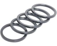 "Wheels Manufacturing 1"" Headset Spacer (Black) (5) (2.5mm)"