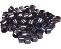 "Wheels Manufacturing 1-1/8"" Headset Spacers (Black) (100) (20mm)"