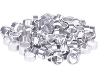 "Wheels Manufacturing Bulk Headset Spacers (Silver) (1-1/8"") (Bag of 100)"