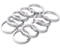 "Wheels Manufacturing 1"" Headset Spacer (Silver) (10) (5mm) 