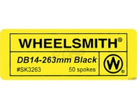 Wheelsmith DB14 Spokes 2.0/1.7 x 296mm Black, Bag of 50 | relatedproducts