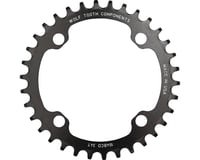Image 2 for Wolf Tooth Components Drop-Stop Chainring (Black) (104 BCD) (38T)