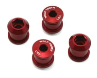 Wolf Tooth Components Dual Hex Fitting Chainring Bolts (Red) (6mm) (4ct)