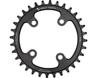 Wolf Tooth Components Drop-Stop Chainring (Black) (76mm BCD)