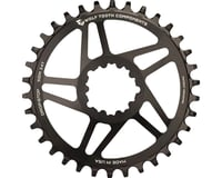 Wolf Tooth Components Direct Mount GXP Drop-Stop Chainring (Black) (6mm Offset) (32T)