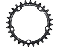 Image 2 for Wolf Tooth Components CAMO Al Round Chainring (Black) (28T)