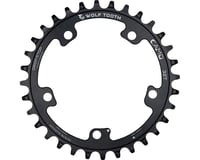 Image 2 for Wolf Tooth Components CAMO Al Round Chainring (Black) (32T)