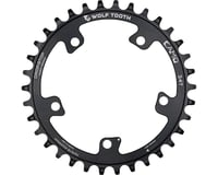 Image 2 for Wolf Tooth Components CAMO Al Round Chainring (Black) (34T)