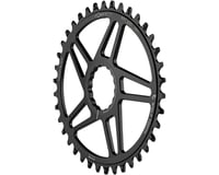 Image 1 for Wolf Tooth Components Easton Direct Mount Oval Drop-Stop Chainring (Black) (38T)