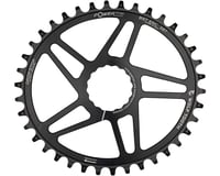 Image 2 for Wolf Tooth Components Easton Direct Mount Oval Drop-Stop Chainring (Black) (38T)