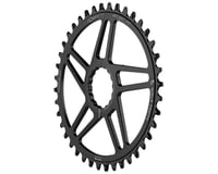 Image 1 for Wolf Tooth Components Easton Direct Mount Oval Drop-Stop Chainring (Black) (40T)