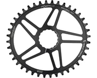 Image 2 for Wolf Tooth Components Easton Direct Mount Oval Drop-Stop Chainring (Black) (40T)