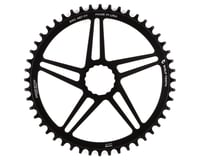 Wolf Tooth Components Cinch Direct Mount CX/Road Chainring (Black) (Flat Top)