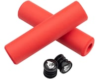 Image 2 for Wolf Tooth Components Fat Paw Grips (Red)