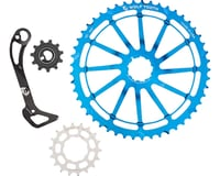 Wolf Tooth Components WolfCage Combo Pack (Blue) (49T Cog & 18T Cog)