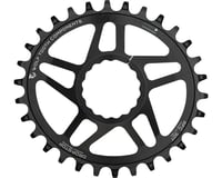 Wolf Tooth Components PowerTrac Drop-Stop Cinch Direct Mount Chainring (Black) (Boost)