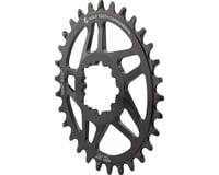 Wolf Tooth Components PowerTrac Drop-Stop GXP Oval Chainring (Black) (6mm Offset) (32T)