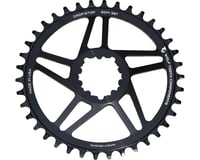 Wolf Tooth Components Sram Direct Mount Drop-Stop Chainring (Black) (6mm Offset) | relatedproducts