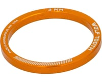 "Wolf Tooth Components  1 1/8"" Headset Spacer (Orange) (5)"